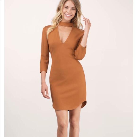 621d305cb4ae Tobi Dresses   Nwt Sexy Bodycon Dress Long Sleeve   Poshmark